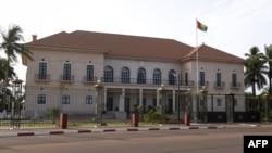 Le palais présidentiel à Bissau, le 9 mai 2017.