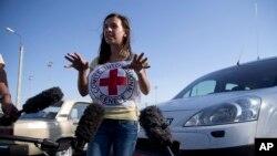 Представитель Международного Красного Креста Галина Балзамова