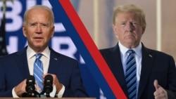 បទសន្ទនា VOA៖ លោក Biden ថ្លែងទៅកាន់ប្រទេសជាតិអំពីការបង្រួបបង្រួមជាតិ ខណៈយុទ្ធនាការលោកប្រធានាធិបតី Trump គ្រោងប្ដឹងអំពីលទ្ធផលបោះឆ្នោត ដែលថាលោក Biden ឈ្នះនោះ