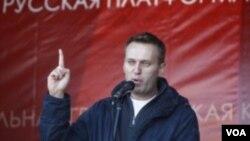 ທະນາຍຄວາມ Alexei Navalny ຜູ້ສະມັກທີ່ເປັນຄູ່ແຂ່ງ ໃນການເລືອກຕັ້ງເຈົ້າຄອງກຸງມົສກູ.