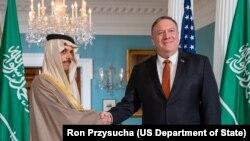 Secretary Pompeo Meets with Saudi Arabia Minister of Foreign Affairs Farhan Al Saud