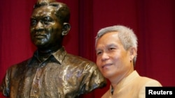 Sombath Somphone of Laos, the winner of Ramon Magsaysay Award for Community Leadership in 2005. (file)