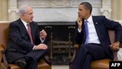 Биньямин Нетаньяху и Барак Обама в Белом доме 1 сентября 2010г.