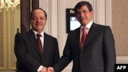 """Davutoğlu: """"Barzani'ye Beklentilerimizi Açıkça Söyledik"""""""
