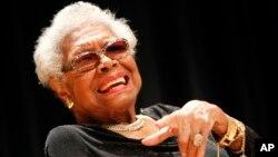 Retrato de Maya Angelou en la Galería Nacional de Retratos de Washington.