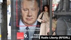 """Riqada Kreml tərəfdarı """"Harmoniya"""" partiyasının seçki reklamı"""