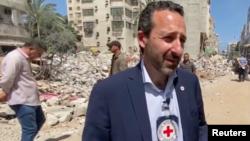 Глава Международного комитета Красного Креста Роберт Мардини