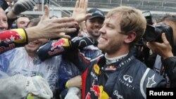 Sebastian Vettel, pebalap Jerman yang bergabung dengan tim Ferrari (foto: dok).