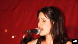 Laurie Levine, seen here performing at Johannesburg's Radium Beer Hall, is fast garnering a reputation as one of South Africa's finest ever folk and roots musicians