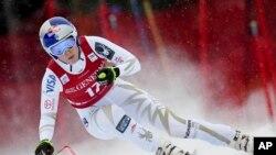 VĐV trượt truyết Alpine Mỹ Lindsey Vonn (ảnh tư liệu 1/12/2017).