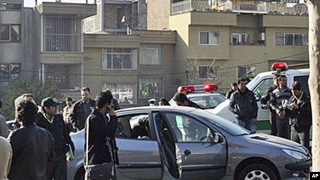 Assailants on motorcycles attached bombs to the two cars of two nuclear scientists as they were driving to work in Tehran, killing one and seriously wounding the other, 29 Nov 2010