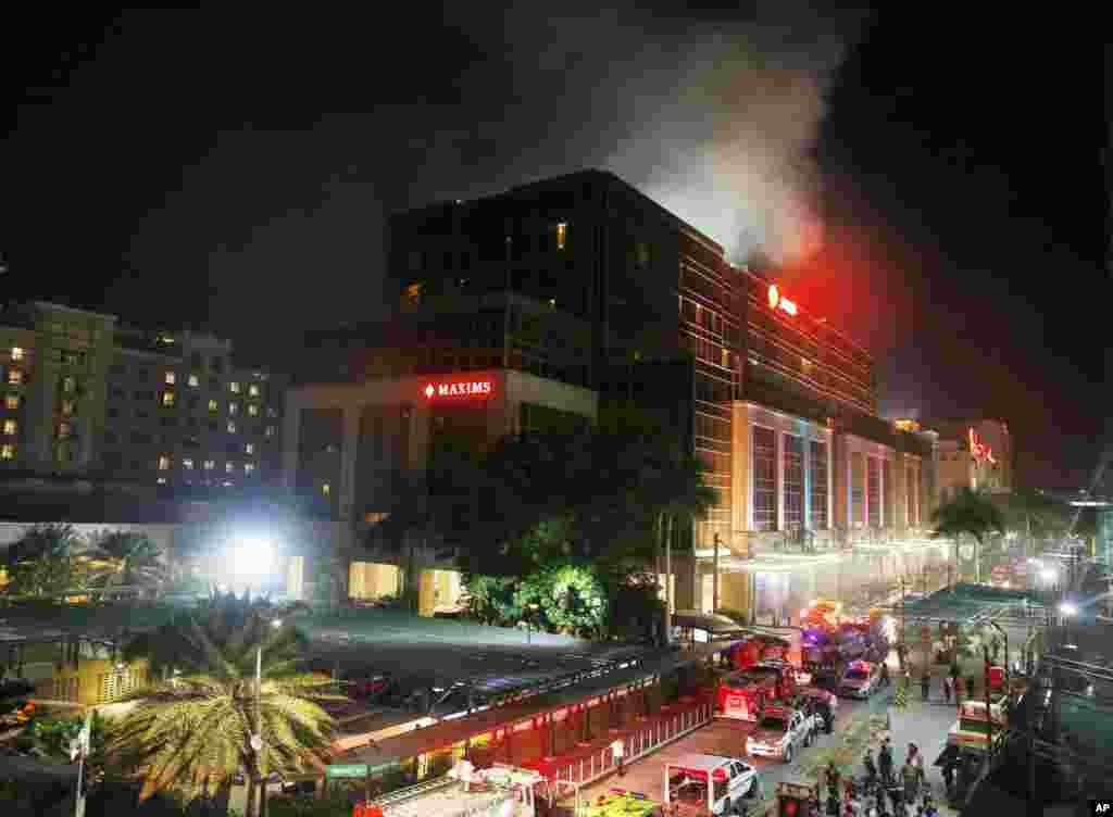 در حمله به یک کازینو در مانیل فیلیپین، یک مرد مسلح وارد شد و دست کم ۳۶ نفر را کشت. نقش داعش در این حمله تکذیب شد.