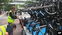伦敦自行车出租系统