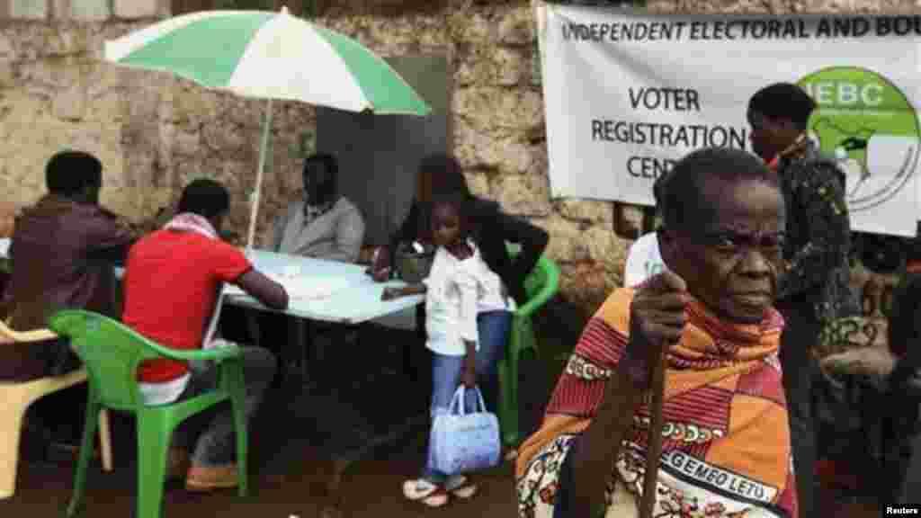 Kuandikishwa wapiga kura Kenya