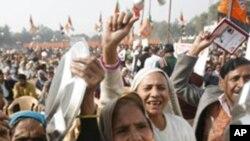 بھارت: رشوت ستانی کے خلاف حزب اختلاف کی ملک گیر احتجاجی مہم