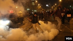 El proyecto de Hidroaysén generó masivas y violentas protestas en Chile.