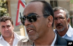 Masoud Shafie, avocat des randonneurs américains (Téhéran, 17 septembre 2011)
