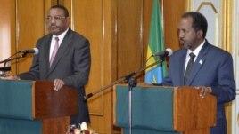 Madaxweynaha Somalia iyo Ra'iisulwasaaraha Ethiopia
