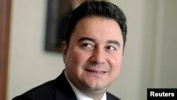 FILE - Turkey's Deputy Prime Minister Ali Babacan