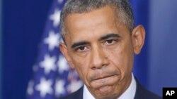 باراک اوباما رئیس جمهروی ایالات متحده آمریکا
