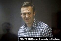 资料照:俄罗斯反对派领袖纳瓦尔尼