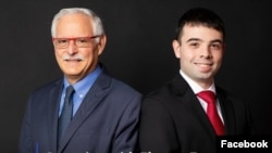 Pemilik Flyover Zone, Bernard Frischer bersama CEO Nathanael Tavares. (Facebook/Flyover Zone)