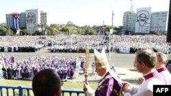 Папа Римський відправив месу просто неба на площі Революції у Гавані