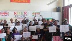 Nhengo dzesangano reRestoration of Human Rights dzichiratidzira. (File Photo)