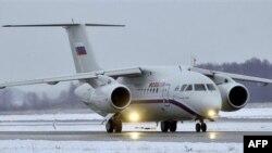 Ан-148. Такой же самолет разбился в Белгородской области.