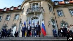 Встреча министров иностранных дел Германии, России, Украины и Франции в 2018 г.