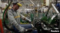Một nhà máy ở Tangiers, Ma-rốc (ảnh tư liệu, 21/2/2013)