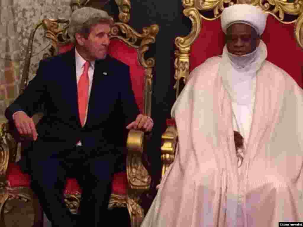 NIGERIA: John Kerry a Sokoto