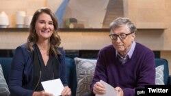 Vợ chồng tỷ phú Bill Gates và Melinda Gates
