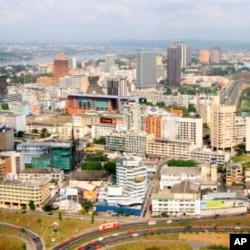 Une vue d'Abidjan