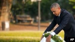 Presidente Barack Obama, Hiroshima, 27 de Maio, 2016