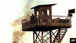 Guarda prisional, Turquia (foto de arquivo)