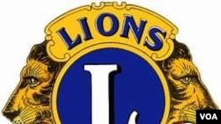 Uphawo lwenhlanganiso eye Lions Club.