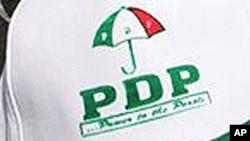 Hira da Shugaban Jam'iyyar PDP na Nigeria.