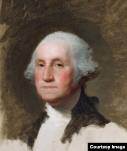 Portret Georgea Washingtona, prvog predsjednika SAD.
