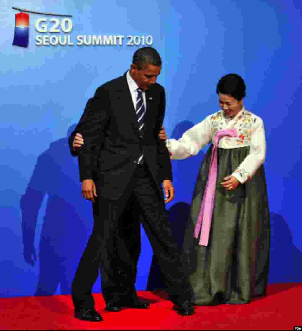 Predsjednik Obama na samitu G20 u Južnoj Koreji (AFP)