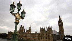 Gedung Parlemen Inggris, The Palace of Westminster.