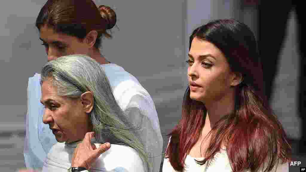 Jaruman Bollywood sun fara makokin mutuwar 'yar wasa Sridevi a Mumbai