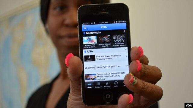 VOA mobile app
