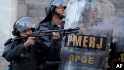 Polisi di Rio de Janeiro, Brazil (foto: ilustrasi).