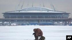 Stade de Saint-Pétersbourg, 25 janvier 2017.