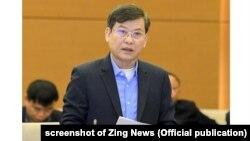 Ông Lê Minh Trí, Viện trưởng Viện Kiểm sát Nhân dân Tối cao