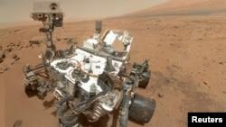 Auto retrato del Curiosity en Marte, uno de los 40 candidatos a Personaje del Año de la revista Time.