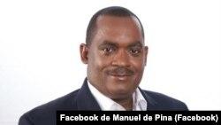 Manuel de Pina, presidente da Câmara Municipal de Ribeira Grande de Santiago, Cidade Velha, Cabo Verde