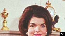 Former U.S. first lady Jacqueline Kennedy. (file photo)