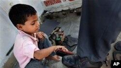 印度貧窮問題嚴重。